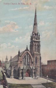 ST. JOHN, New Brunswick, Canada, PU-1917; Trinity Church