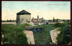 dc1475 - KINGSTON Ontario Postcard 1909 Fort Frederick