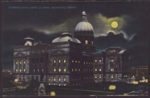 State Capitol at Night,Indianapolis,IN