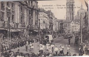 ANVERS, Belgium, 1900-1910´s; Cortege Des Bijoux, Groupe De L'Afrique Du Sup