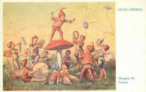 Tarrant Elfin Chorus Fantasy 1930s Artist impression Postcard 21-10479
