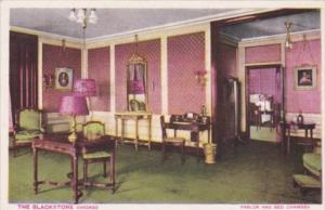 Illinois Chicago The Balckstone Hotel Parlor and Bed Chamber