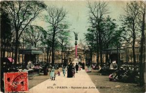 CPA Paris 3e Paris-Square des Arts et Métiers (313938)