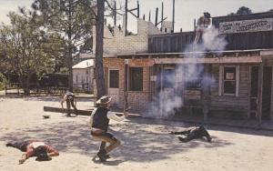 Action Shoot-Outs, Western Town, Wells-Fargo Express Co. Bank, Floridaland, S...