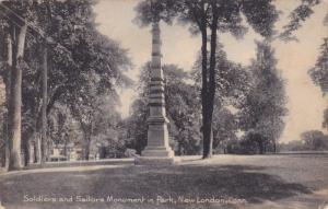 Soldiers & Sailors Monument , NEW LONDON , Connecticut , PU-1908