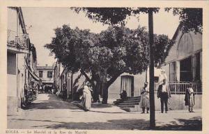Le Marche Et La Rue Du Marche, Kolea, Algeria, Africa, 1900-1910s