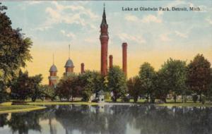 Michigan Detroit Lake At Gladwin Park Curteich