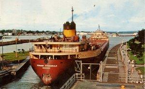 MI - Sault Ste Marie. The Soo Locks, SS Edmund Fitzgerald