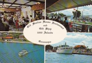 Canada Gananoque Old Station House Restaurant and Gift Shop 1000 Islands