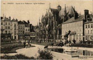 CPA Troyes- Square de la Prefecture , Eglise St Urbain FRANCE (1007882)