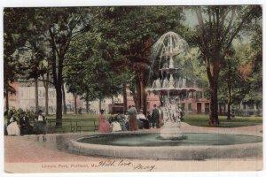 Portland, Me, Lincoln Park