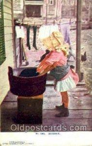 No. 1905 Monday E.F.Branning's Cartino Card. N.Y. City (Germany) Sun Bonnet, ...