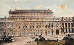 Teatro Colon, Vista lateral Buenos Aires Argentina Writing on back