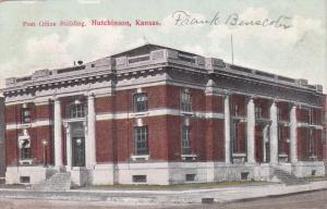 HUTCHINSON , Kansas, PU-1910 ; Post Office Building