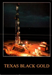 Texas Black Gold Typical Oil Well