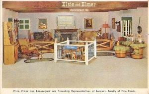 Longhorn Steer Bull Elsie, Elmer and Beauregard, Borden's Family of Fine...