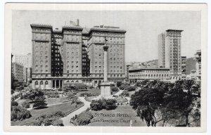 San Francisco, Calif, St. Francis Hotel