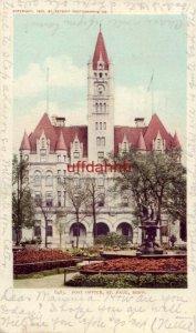 pre-1907 POST OFFICE, ST. PAUL, MN 1906