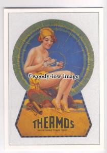 ad3574 - Thermos -  Modern Advert Postcard