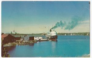 Canada; SS Norisle - Tobermory To S. Manitoulin Island Ferry PPC, c 1960's