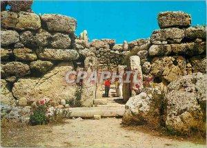 Postcard Modern Gozo's prehistoric Ggantija temples
