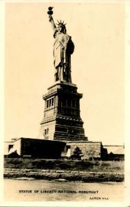 NY - New York City. Statue of Liberty - RPPC
