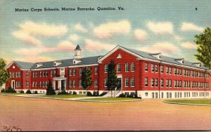 Vrginia Quantici Marine Barracks Marine Corps Schools 1954