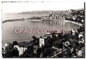 Postcard View genersale Moderne Menton and Cape Maitiri