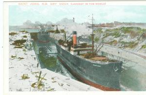Dry Dock, Saint John NB
