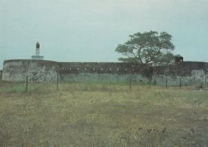 Old Military Fort Bullen Barra Gambia African Postcard
