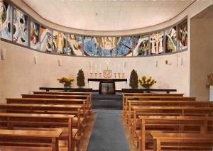 Badenweiler Sanatorium Schloss Hausbaden Kapelle Chapel Interior