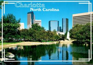 North Carolina Charlotte Downtown Skyline