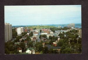 NS View Citadel Historic Park Halifax Nova Scotia Canada Carte Postale Postcard