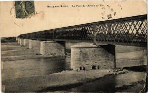 CPA SULLY-sur-LOIRE-Le Pont du Chemin de Fer (266055)