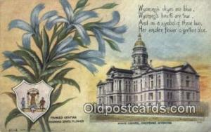 Cheyenne, Wyoming, WY  State Capital, Capitals Postcard Post Card USA  Cheyen...