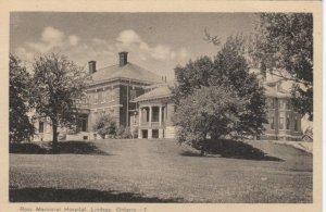 LINDSAY , Ontario, Canada, 1930s ; Ross Memorial Hospital
