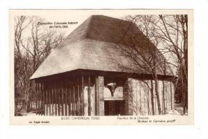 RP, Pavillion de la Chasse, Le Sage sculpt, Camerun Togo, Exposition Colonial...