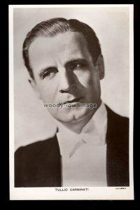 b1621 - Film Actor - Tullio Carminati - Picturegoer No.899 - postcard