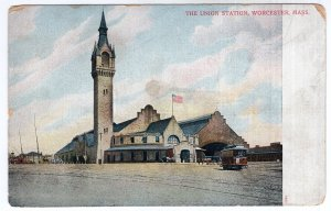 Worcester, Mass, The Union Station
