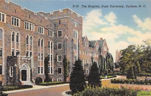 The Hospital, Duke University, Durham, NC, USA The  Duke University, Durham, ...