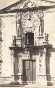RP: Church doors , Merida , Yuc. , Mexico , 30-40s