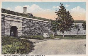 Entrance To Fort Ontario, Built 1755, Oswego, New York, 1910-1920s