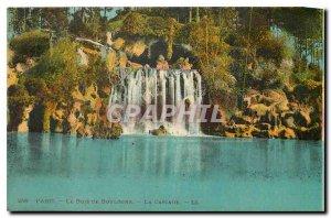 Old Postcard Paris The Bois de Boulogne La Cascade