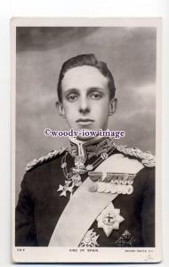 r1601 - Spanish Royalty - King Alfonso XIII - postcard