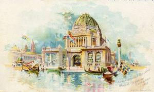 World's Columbia Exposition, 1893 - Administration Building, Advertising