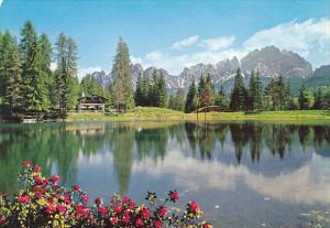 Italy Cortina d'Ampezzo Chalet Lago Pianozes