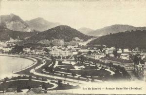 brazil, RIO DE JANEIRO, Avenue Beira-Mar, Botafogo (1910s)