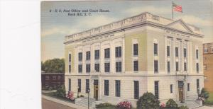 Post Office , ROCK HILL , South Carolina , 30-40s #2