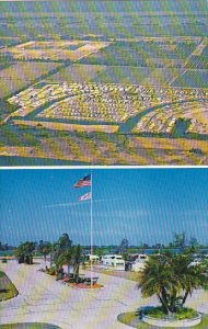 Florida Ruskin Hawaiian Isles Travel Resort and Trailer Park Aerial View