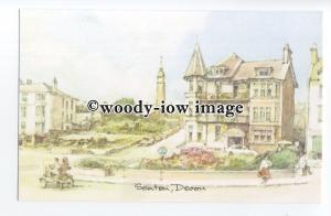 DS285 - Devon - Seaton Street Scene, Artist - David Skipp - Postcard